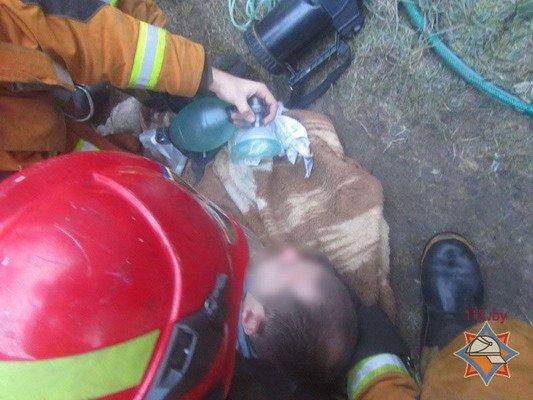 Спасенный из пожара гродненец сбежал из больницы (Фото), фото-1