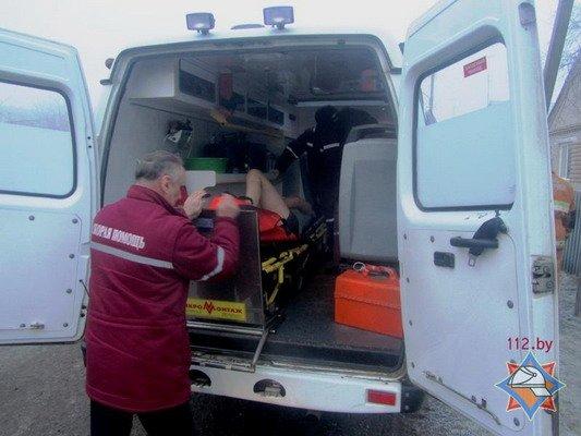 Спасенный из пожара гродненец сбежал из больницы (Фото), фото-3