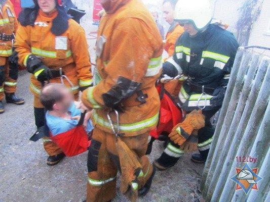 Спасенный из пожара гродненец сбежал из больницы (Фото), фото-2