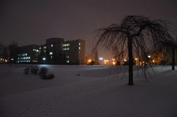 В Гродно вновь пришел снег и холод: до конца недели похолодает до -12 (Фото), фото-1