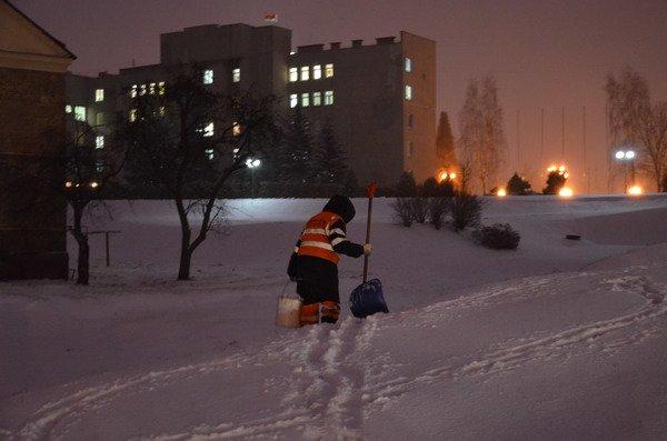 В Гродно вновь пришел снег и холод: до конца недели похолодает до -12 (Фото), фото-2