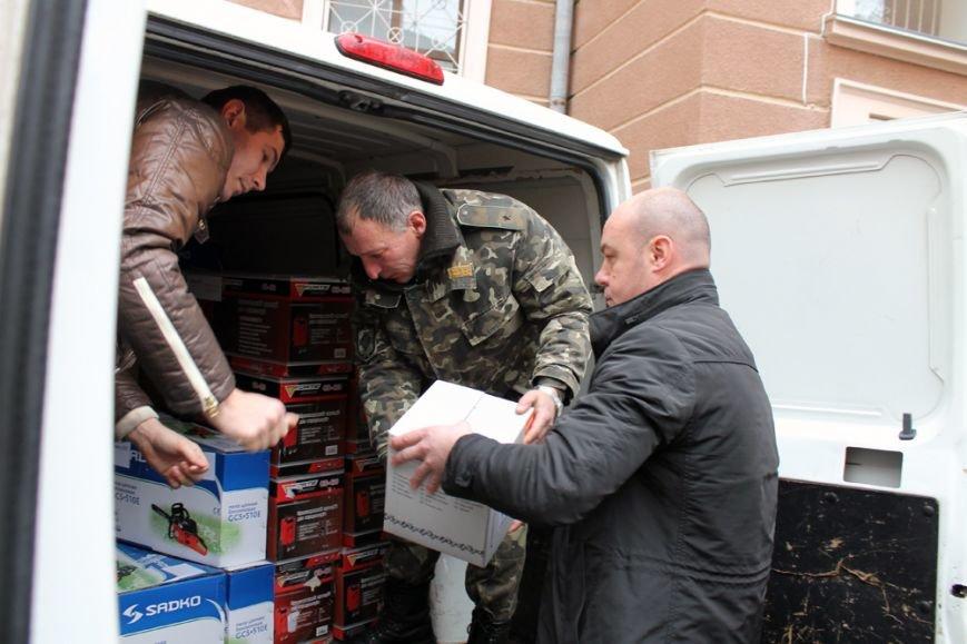 Обладнання майже на 100 тисяч гривень передали бійцям АТО з Тернополя (фото) (фото) - фото 1