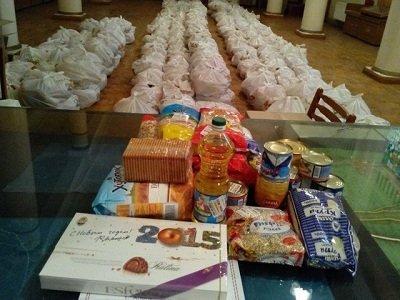 В Макеевке открылся пункт выдачи гуманитарной помощи штаба «Поможем» (фото) - фото 1
