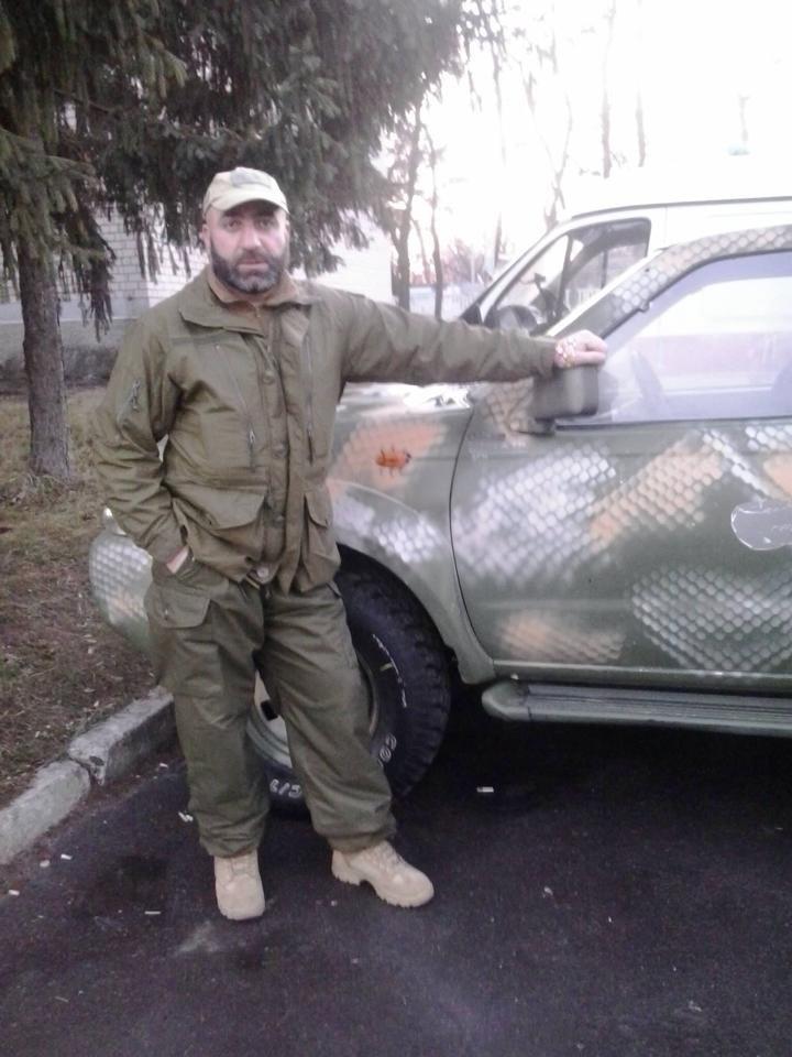 В Киеве попрощались с киборгом Тамазом Сухиашвили (фото) - фото 1