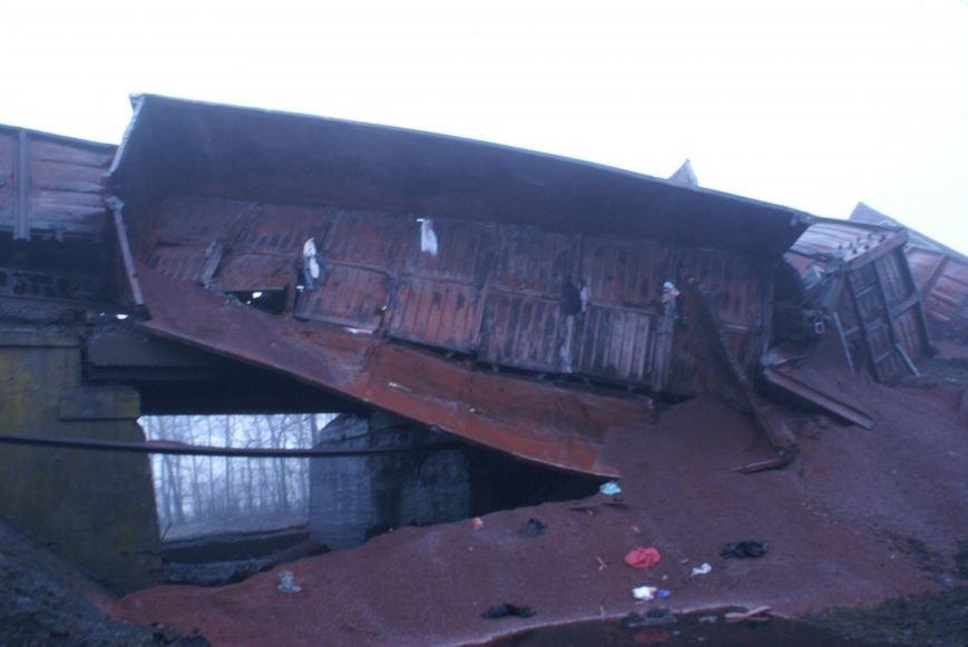В Запорожской области на взорванном участке железной дороги начали восстановительные работы (ФОТО) (фото) - фото 1
