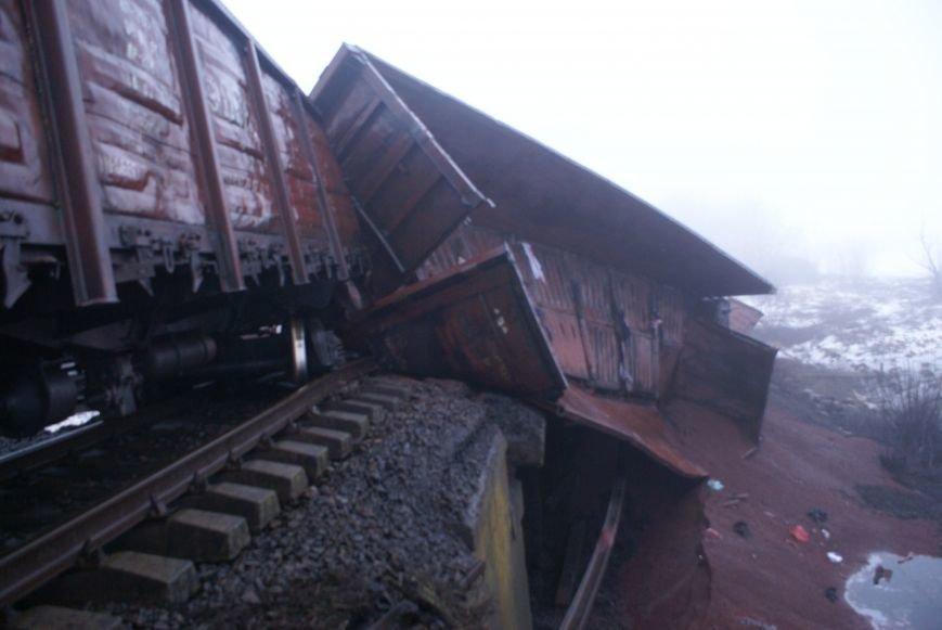 В Запорожской области на взорванном участке железной дороги начали восстановительные работы (ФОТО) (фото) - фото 2