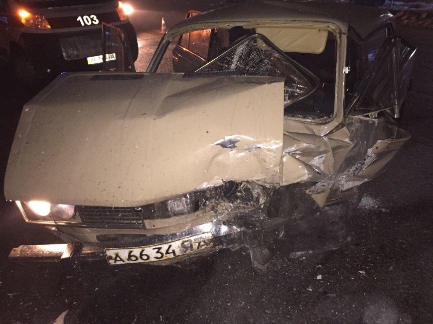 В Днепропетровске случилось ДТП: водители отделались легким испугом, чего не скажешь о автомобилях (ФОТО), фото-2