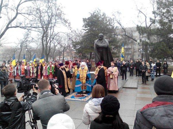 Николаевцы отметили День соборности Украины (ФОТО) (фото) - фото 3