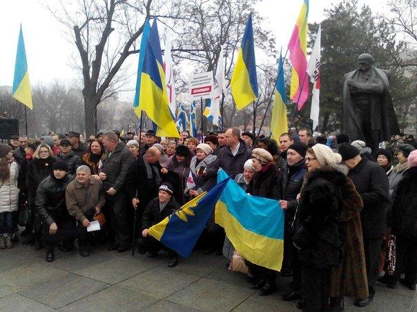 Николаевцы отметили День Соборности Украины (ФОТО), фото-6
