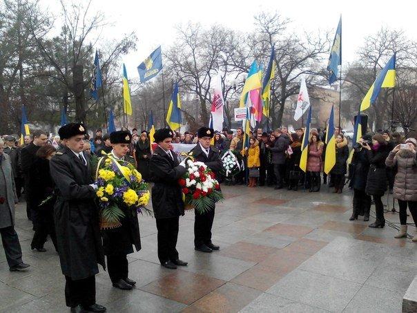 Николаевцы отметили День соборности Украины (ФОТО) (фото) - фото 5