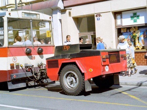 Троллейбус с генератором(1)