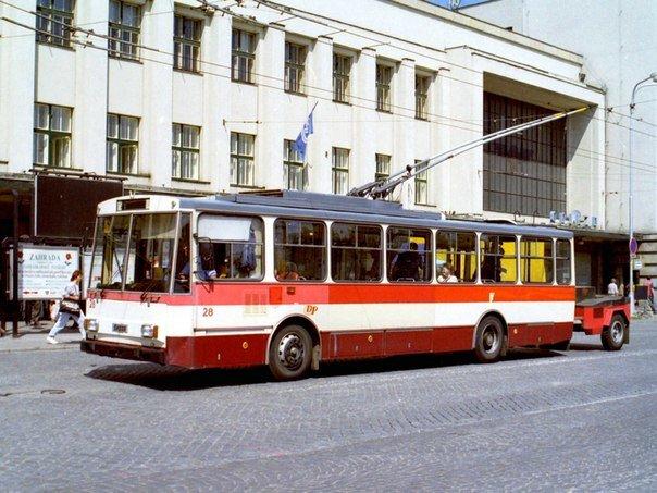 Троллейбус с генератором 2(1)