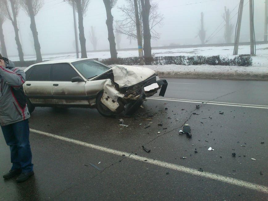 В Днепродзержинске на проспекте Юбилейном произошло серьезное ДТП (фото) - фото 1