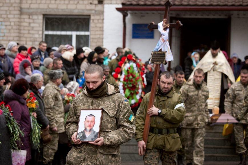 ФОТОРЕПОРТАЖ: В Запорожской области попрощались с «Киборгом», павшим в бою за Донецкий аэропорт (фото) - фото 1