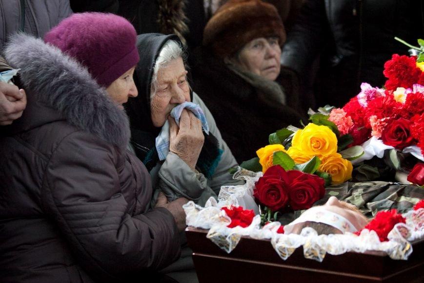 ФОТОРЕПОРТАЖ: В Запорожской области попрощались с «Киборгом», павшим в бою за Донецкий аэропорт (фото) - фото 2