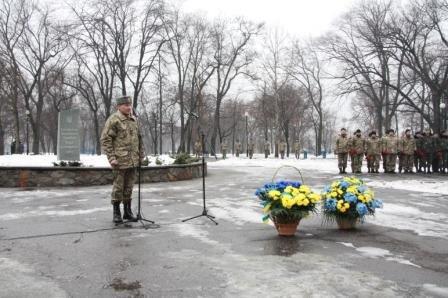 ФОТОРЕПОРТАЖ: В Запорожье в День Соборности почтили память героев АТО (фото) - фото 2