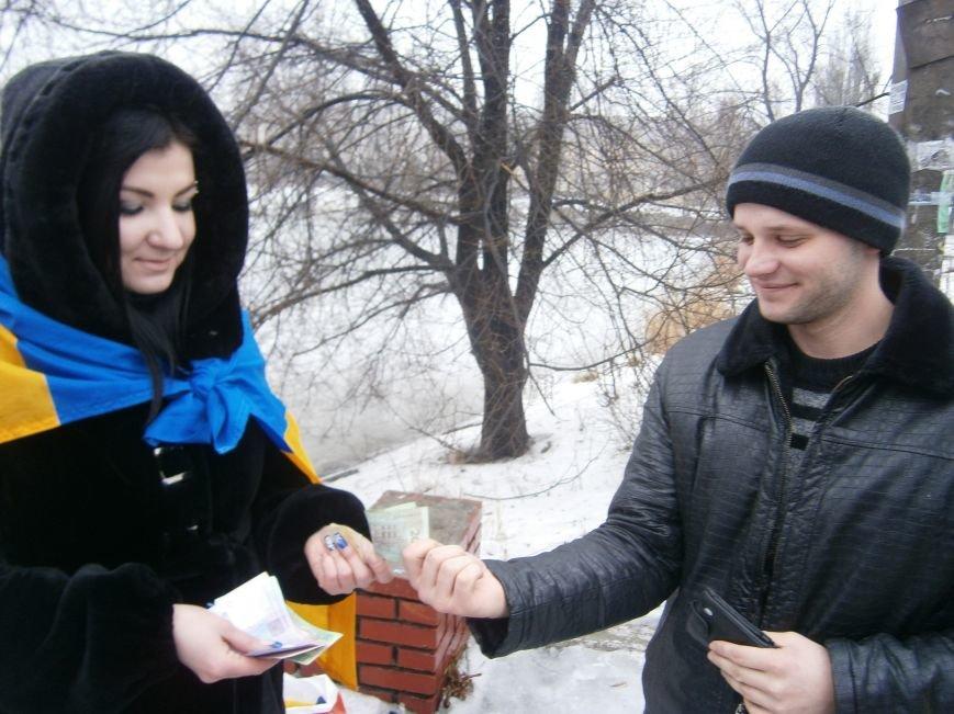 Димитровские патриоты собрали денежные средства для раненных из зоны АТО (фото) - фото 2