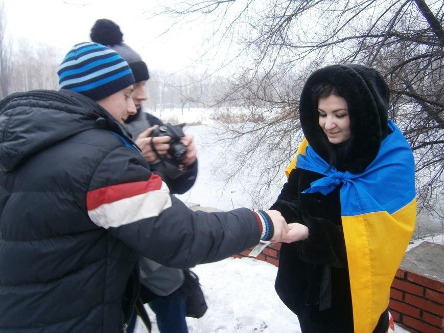 Димитровские патриоты собрали денежные средства для раненных из зоны АТО (фото) - фото 4
