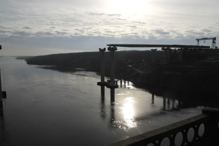 Запорожские мосты медленно идут вперед (ФОТО) (фото) - фото 2
