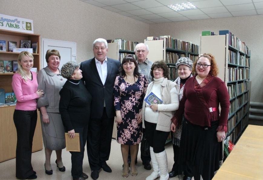 В Артемовске состоялось открытие библиотеки-филиала №2 после капитального ремонта, фото-5