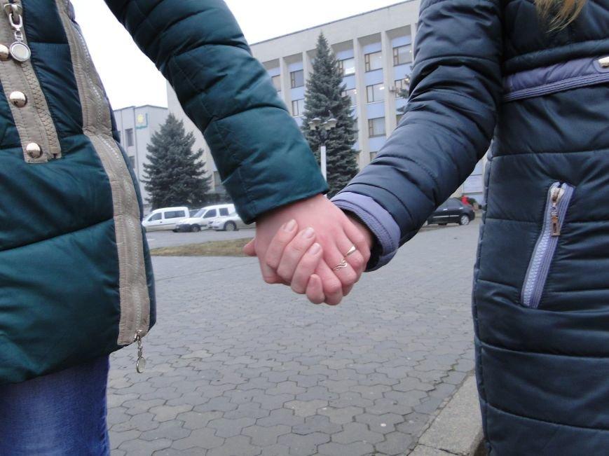 Школярі Хмельницького утворили живий ланцюг (фото) - фото 1
