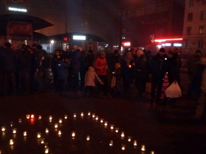 В Днепродзержинске почтили память погибших евромайдановцев и бойцов АТО, фото-1