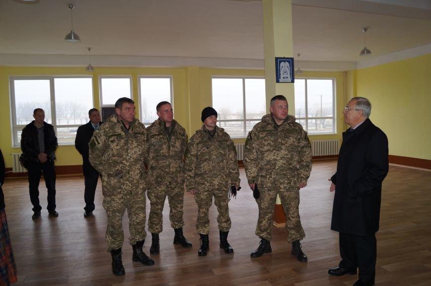 Криворожане отремонтировали казарму 17 танковой бригады (ФОТО) (фото) - фото 1