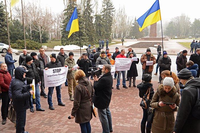 Активисты предложили создать батальон имени мэра Николаева из депутатов-коррупционеров (ФОТО), фото-7