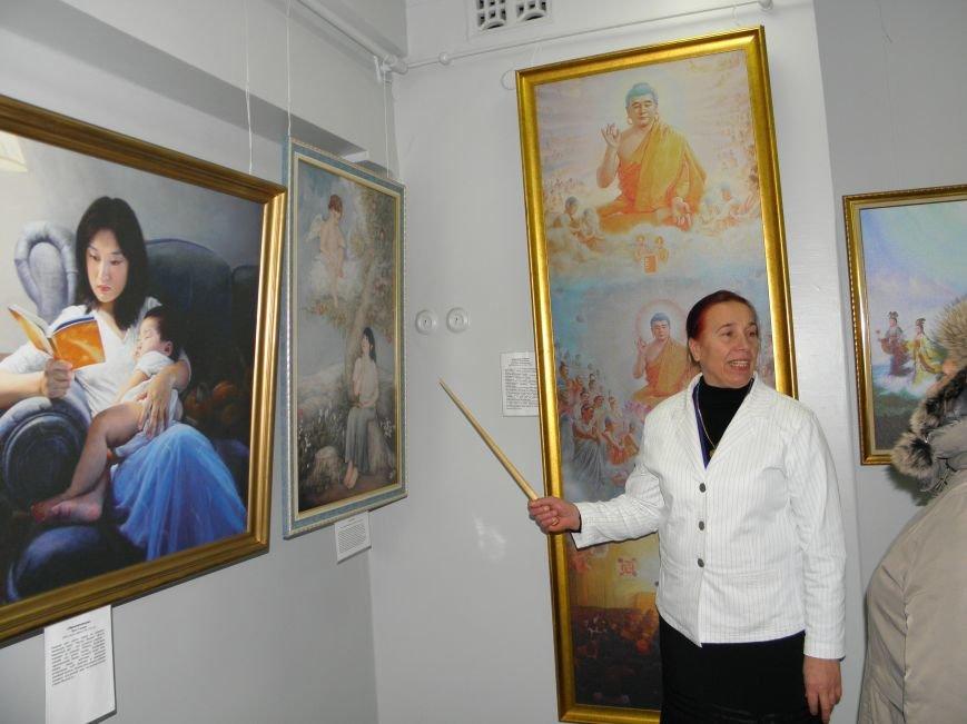 В Краматорск приехала международная выставка «Искусство. Истина. Доброта. Терпение». (фото) - фото 1