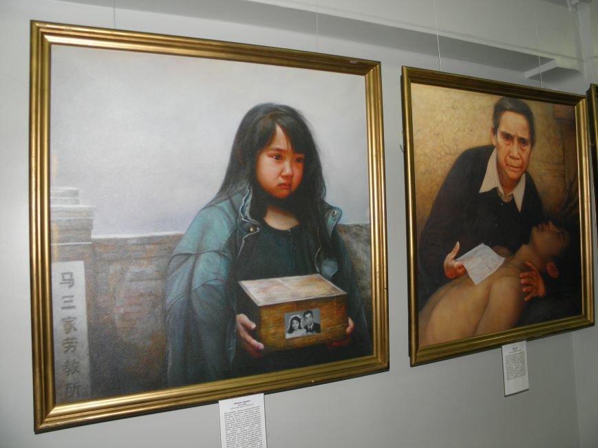 В Краматорск приехала международная выставка «Искусство. Истина. Доброта. Терпение». (фото) - фото 7
