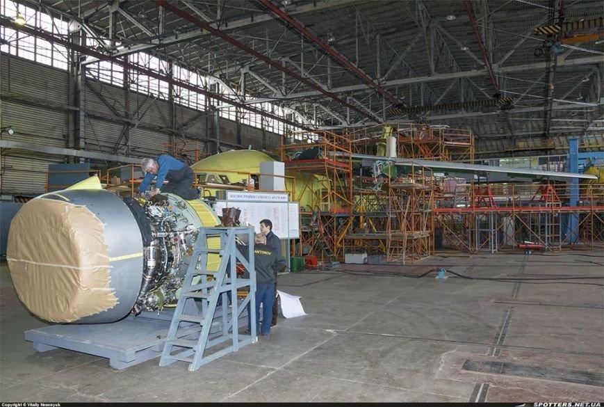 """""""Антонов"""" завершает постройку нового украинского военно-транспортного самолета Ан-178 (ФОТО) (фото) - фото 1"""