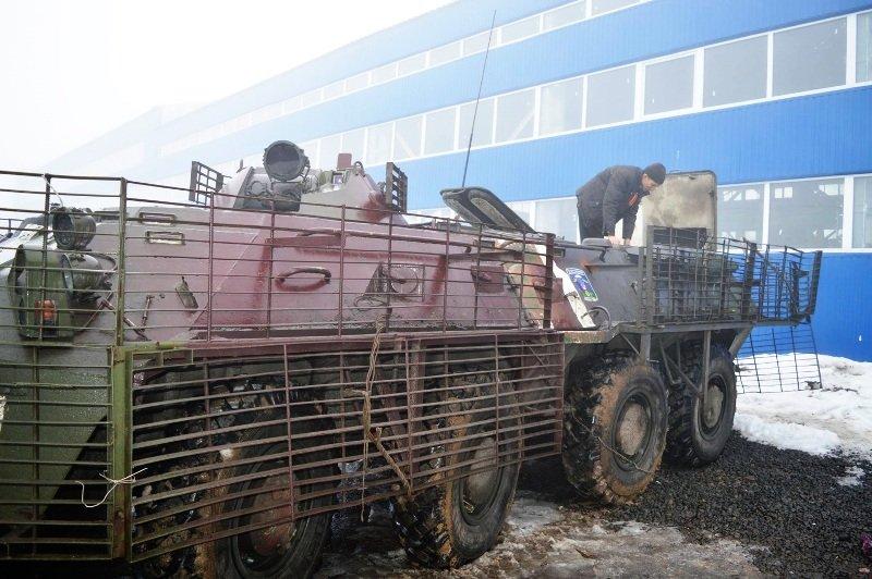 Николаевский тепловозоремонтный завод ремонтирует и восстанавливает военную технику для ВСУ (ФОТО) (фото) - фото 1