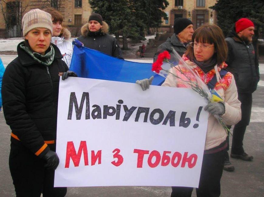 «Я Мариуполь»: в Днепропетровске к акции памяти присоединились волонтеры из Чехии (ВИДЕО, ФОТО) (фото) - фото 1