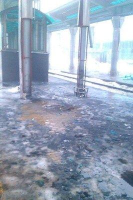 Донецкий железнодорожный вокзал: фото после обстрелов (фото) - фото 2