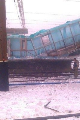 Донецкий железнодорожный вокзал: фото после обстрелов (фото) - фото 1