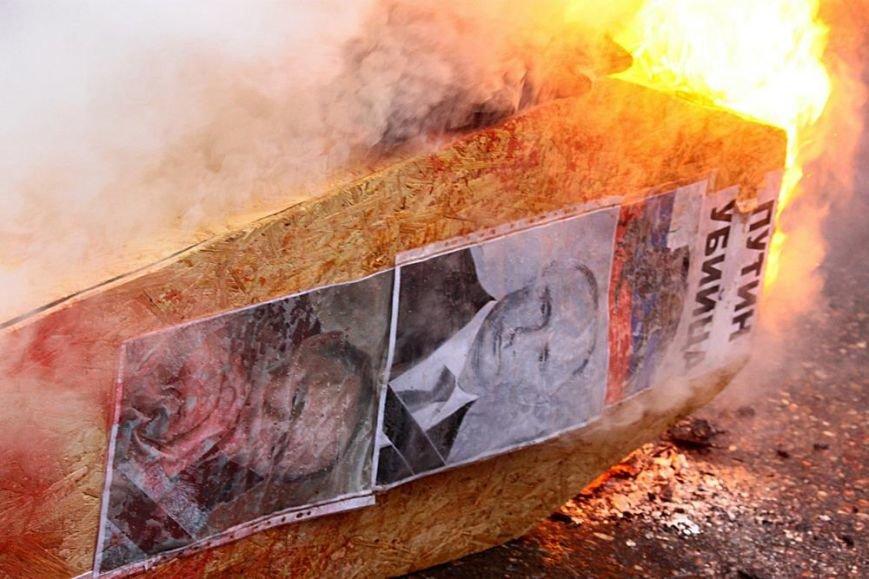 Одесса кремировала Путина. Как это было (ФОТОРЕПОРТАЖ), фото-25