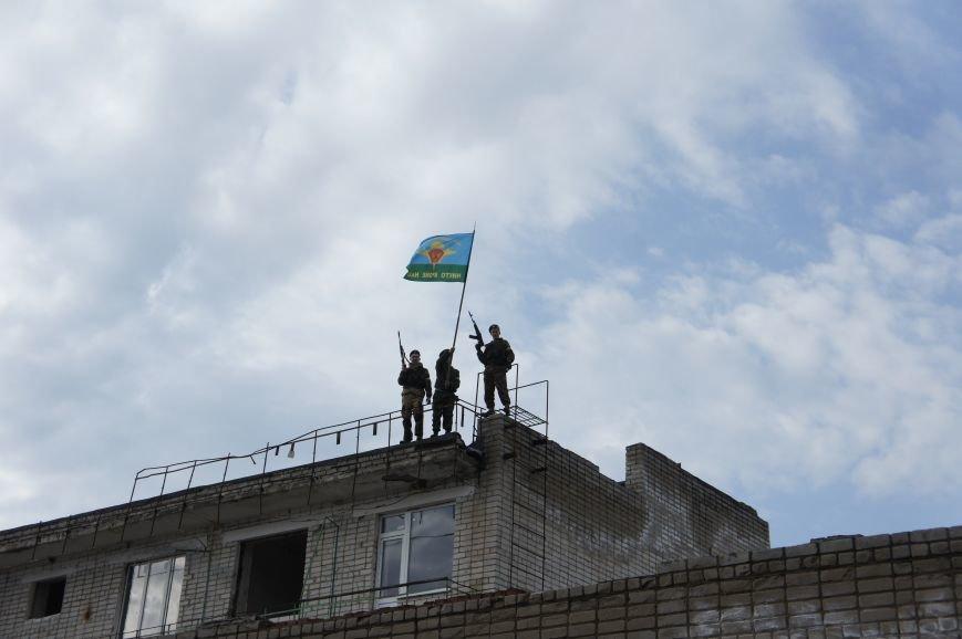 В Белореченском районе начат месячник военно-патриотической подготовки. (фото) - фото 1