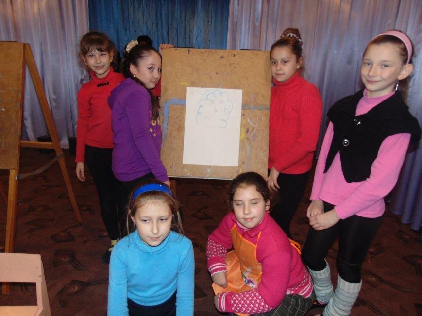 В Димитрове в центре «Бригантина» прошли «Зимние забавы» (фото) - фото 5