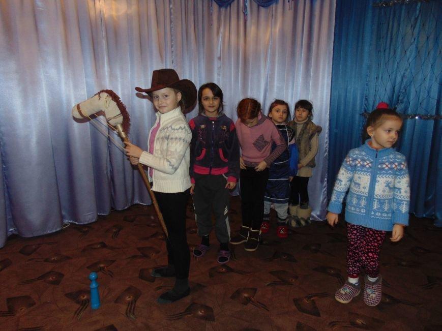 В Димитрове в центре «Бригантина» прошли «Зимние забавы» (фото) - фото 12
