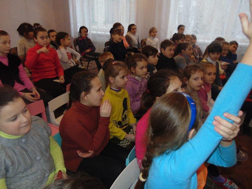 В Димитрове в центре «Бригантина» прошли «Зимние забавы» (фото) - фото 1