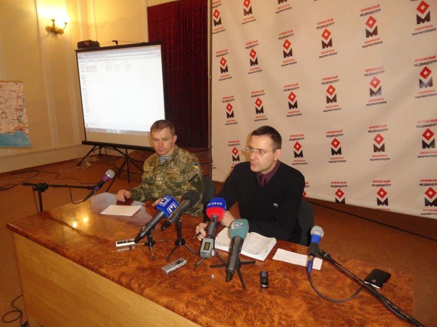 В штабе обороны Мариуполя показали наводчика «Градов» и доказали, что залп по Мариуполю пришел с востока (ФОТО+ВИДЕО). (фото) - фото 1