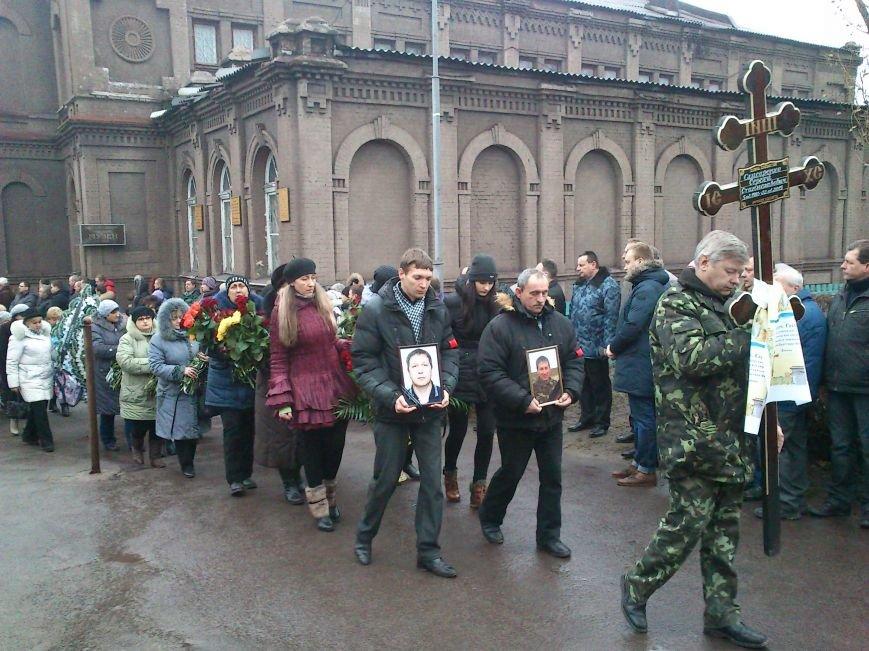Днепродзержинск простился с погибшим в зоне боевых действий Сергеем Слисаренко, фото-7