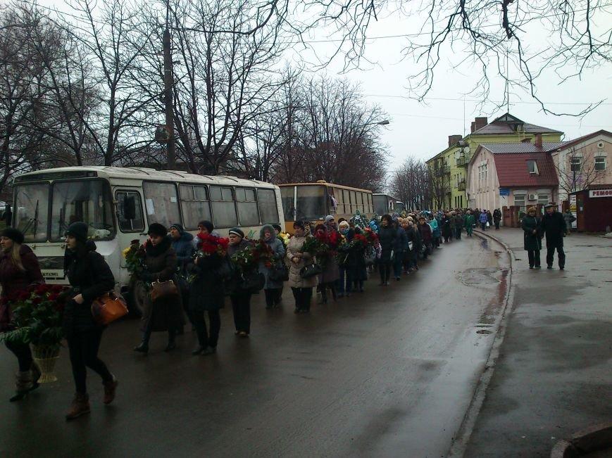 Днепродзержинск простился с погибшим в зоне боевых действий Сергеем Слисаренко, фото-10