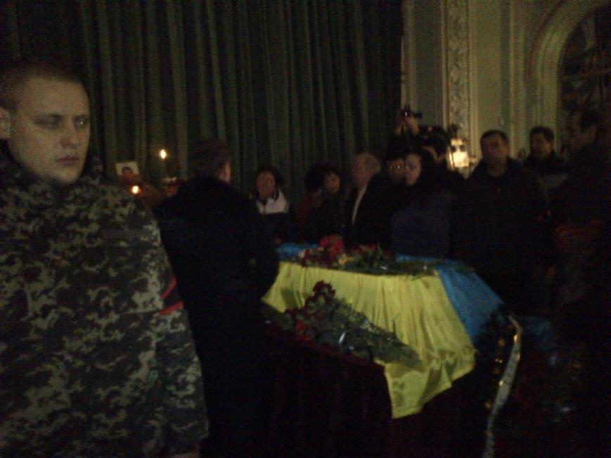 Днепродзержинск простился с погибшим в зоне боевых действий Сергеем Слисаренко, фото-3