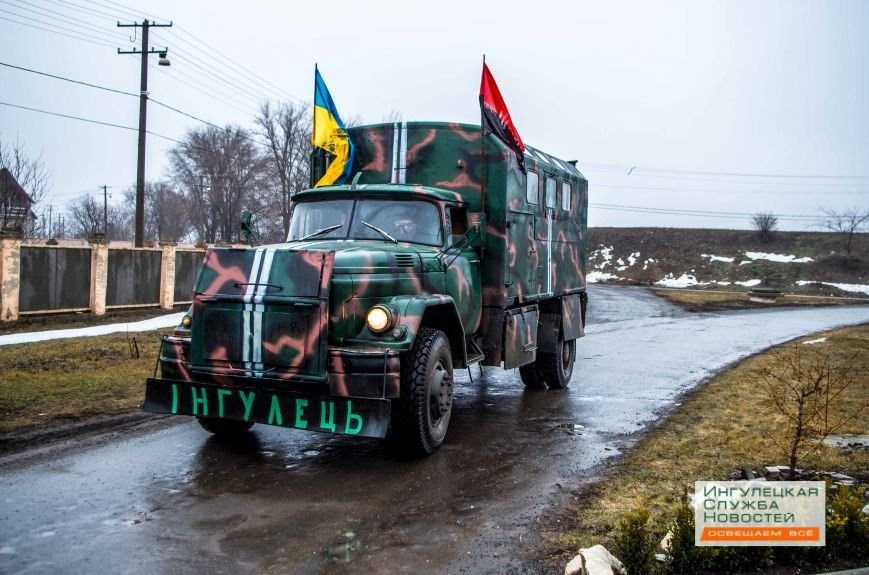 Криворожане отправили бойцам в зону АТО автомобиль и гуманитарную помощь (ФОТОРЕПОРТАЖ) (фото) - фото 2