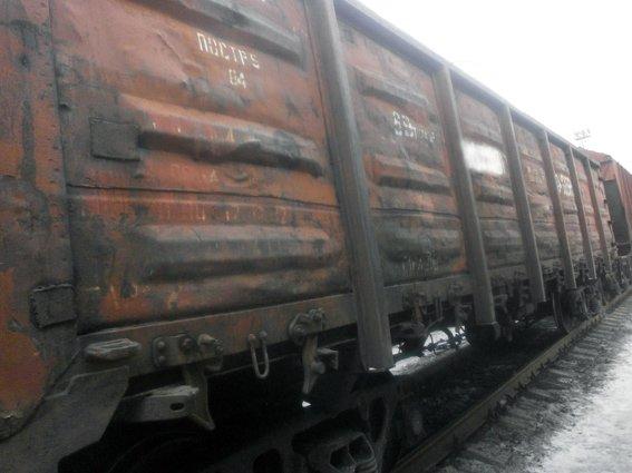 На станцию Красноармейск прибыл железнодорожный состав с углем из Тореза с подозрительными документами (фото) - фото 1