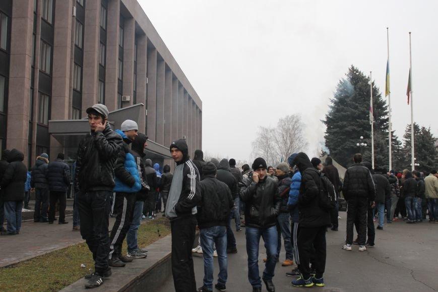 Под Криворожским горисполкомом  более 300 криворожан  собрались на акцию протеста (ФОТО, ОБНОВЛЯЕТСЯ), фото-8