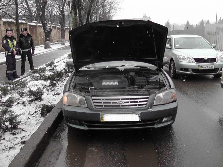 В Кировограде нашли похищенный автомобиль (фото) - фото 1