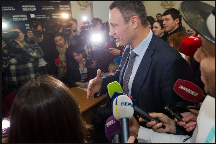 Кличко: Полицейский патруль должен обеспечить киевлянам защиту и правопорядок (ФОТО, ВИДЕО) (фото) - фото 1