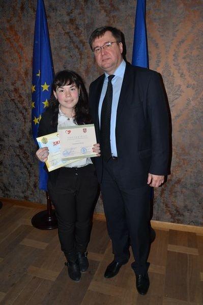 Запорожская школьница победила в национальном конкурсе эссе (фото) - фото 1